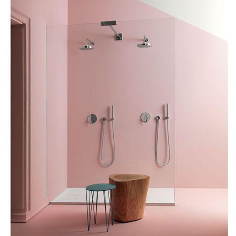 pink pastel bathroom
