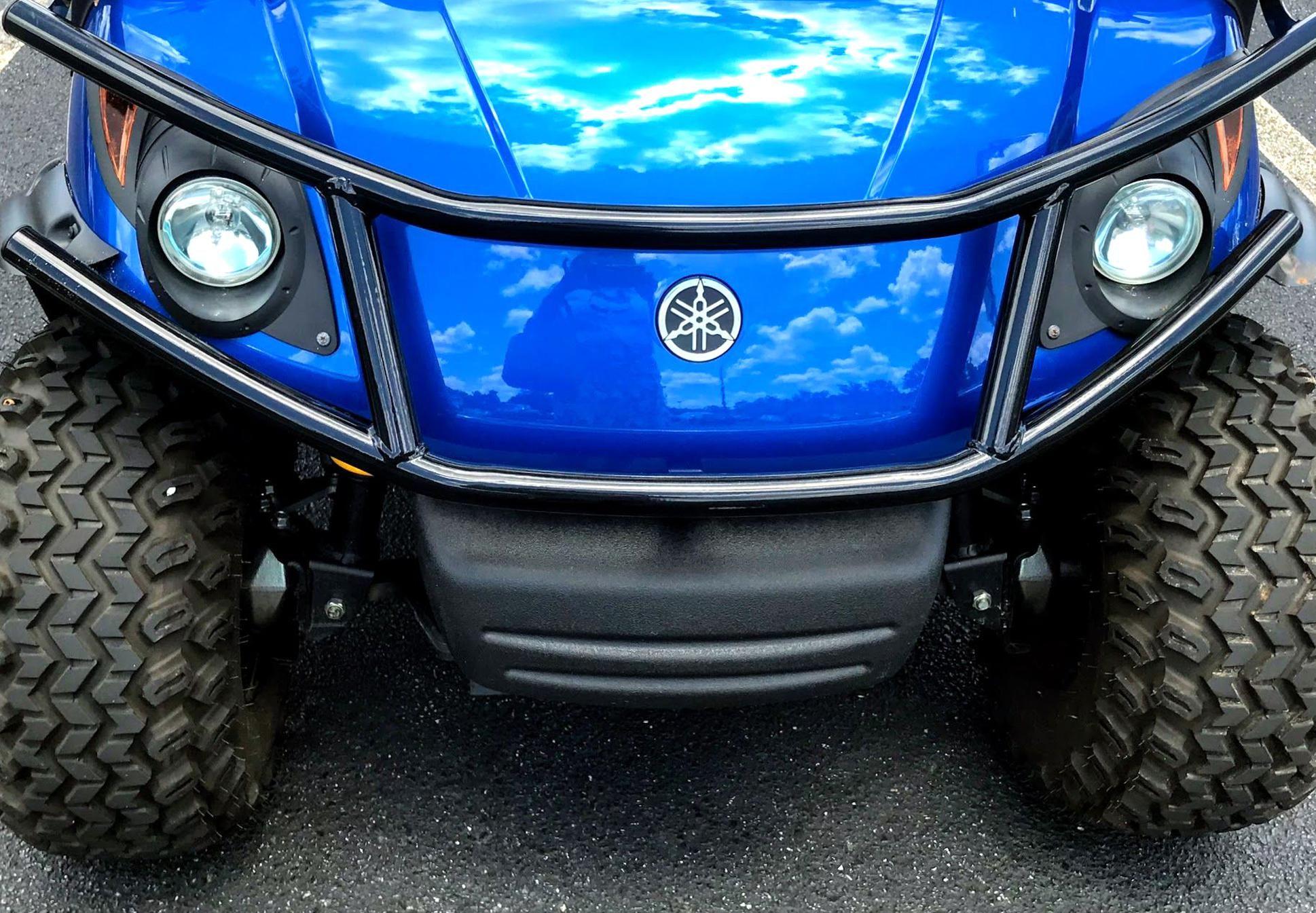 Customize Your Cart With Yamaha Golf Cart Accessories Like This Black Brush Guard Yamahagolfcartaccessorie Golf Cart Accessories Yamaha Golf Carts Golf Carts