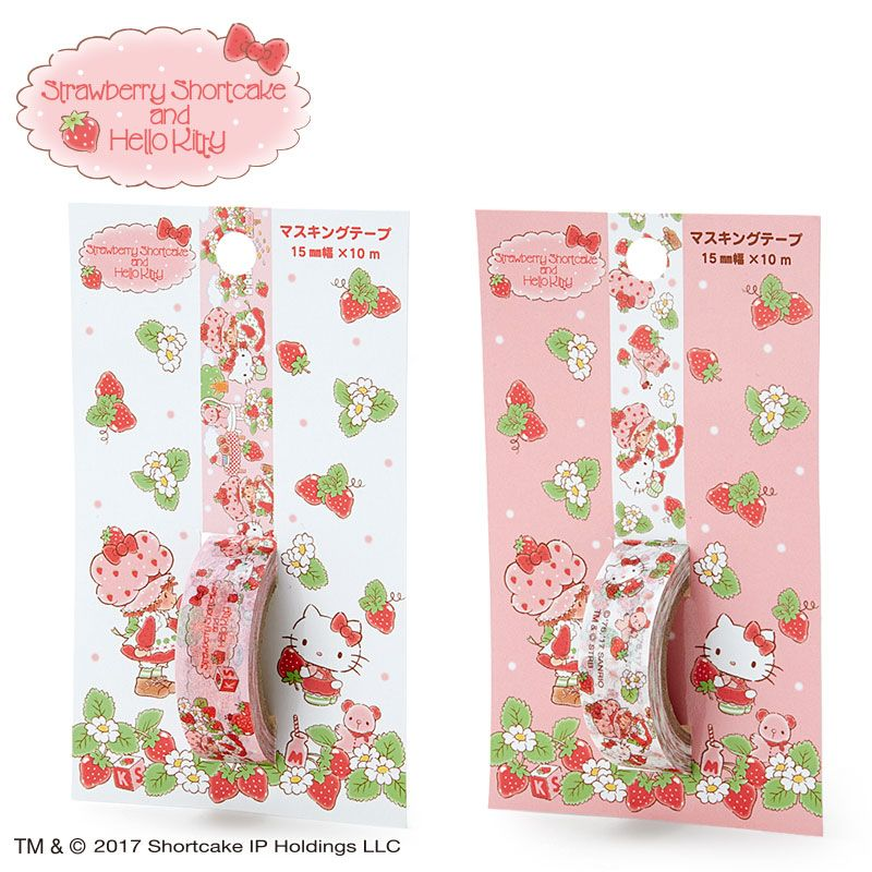 Strawberry Shortcake x Hello Kitty | Organize-me&keep\'in it together ...