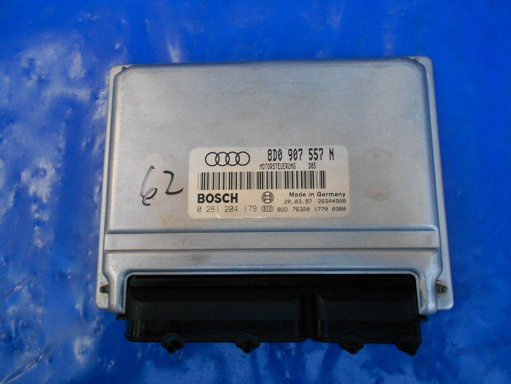 Vw Passat Audi A4 1 8l Turbo Ecm Ecu Engine Computer Module P 0 261 204 179 8d0907557n 8d0 907 557 N Audi A4 Vw Passat Audi