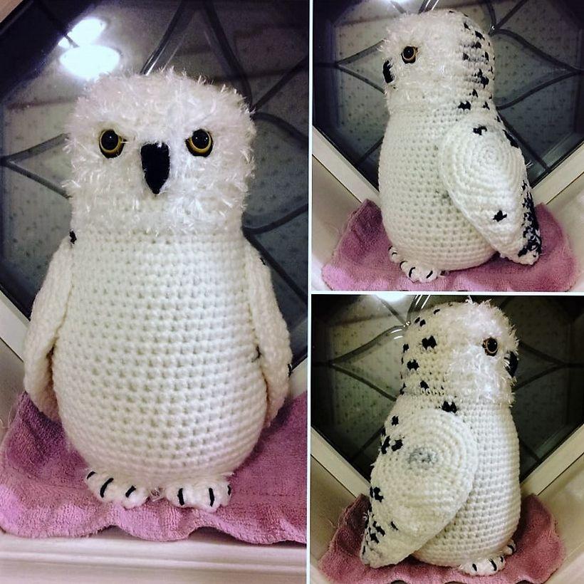 Amigurumi Snowy Owl Pattern | Owl crochet patterns, Owl patterns ... | 820x820