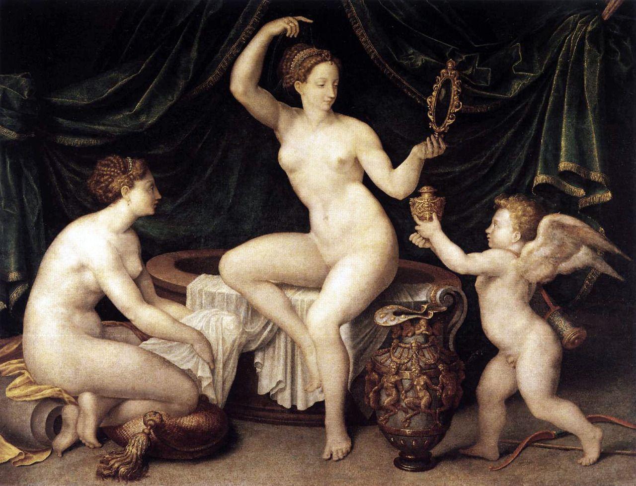 Opinion you Renaissance painting three women nude opinion