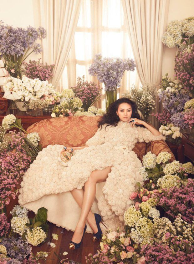Floral editorial wedding inspiration