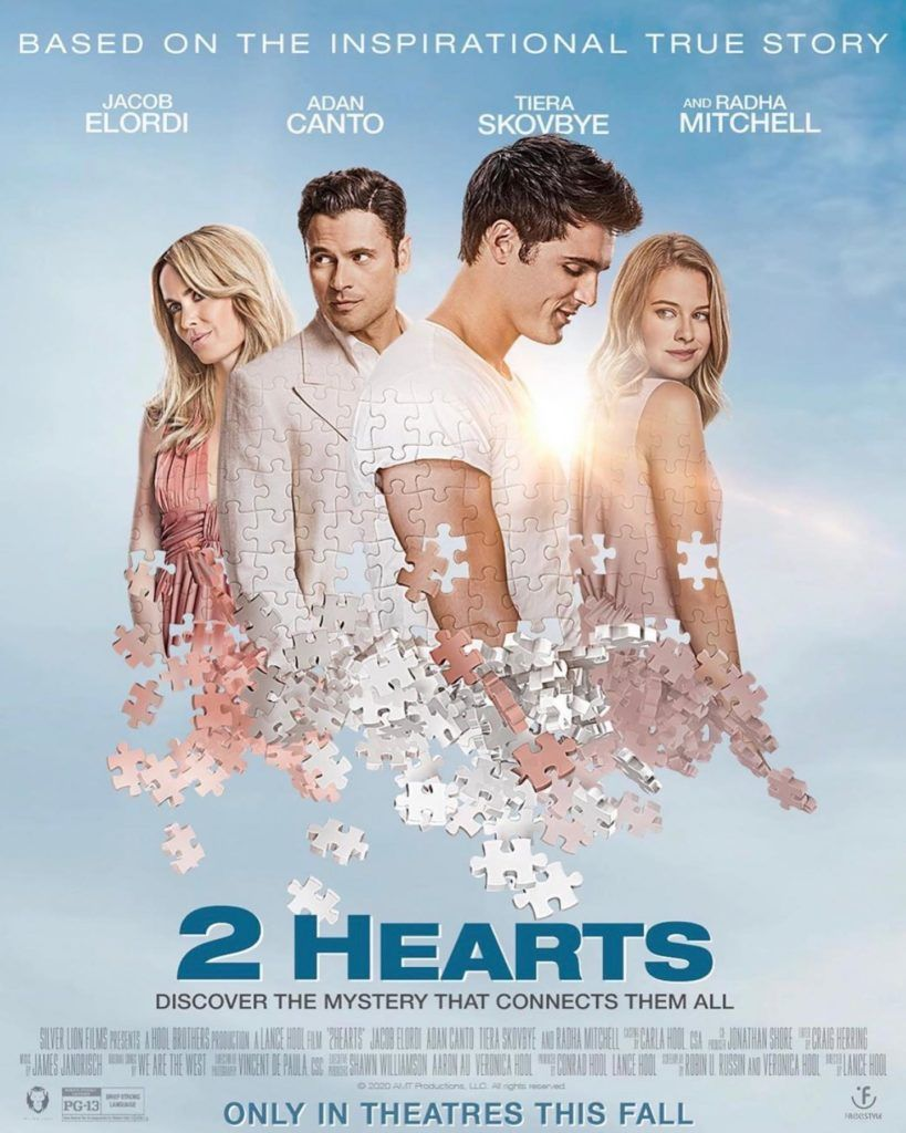 2 hearts film based on a true story out soon