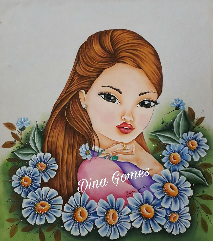 Pin de Edna em Bonecas pintadas | Artesanato bonecas de ...
