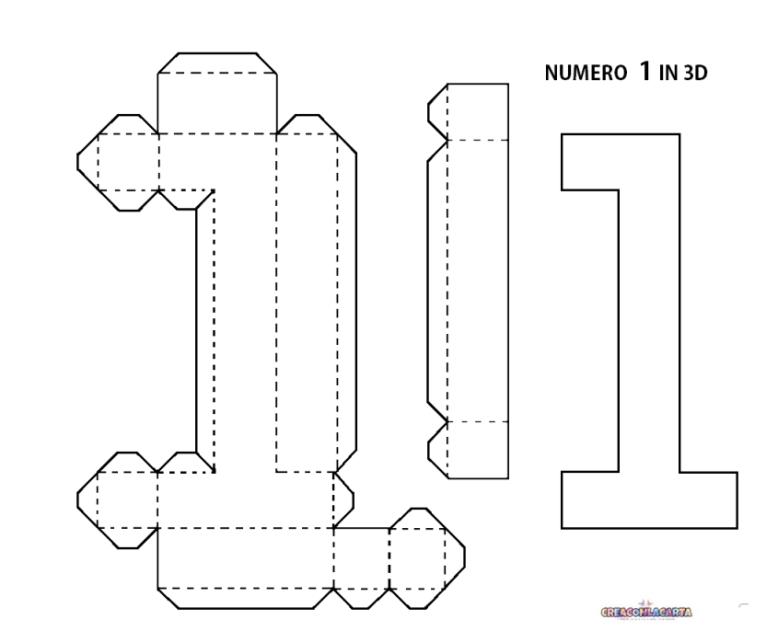 Lettere Dell Alfabeto E Numeri In 3d Fai Da Te Paper Crafts Diy Paper Crafts Diy Tutorials Diy Letters