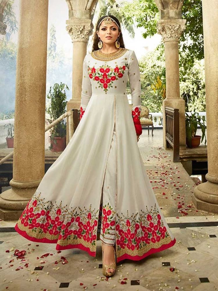 466b76b31d2 Details about Designer salwar kameez women Bridal Wedding Party wear ...