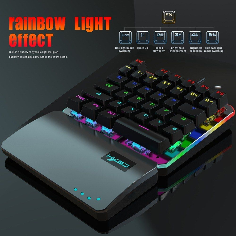 LOLOP Bluetooth Mechanical Keyboard Wired Keyboard Dual Mode,Greenaxis