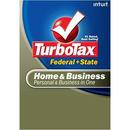 TurboTax Home & Business Federal + State + eFile 2008 (Old