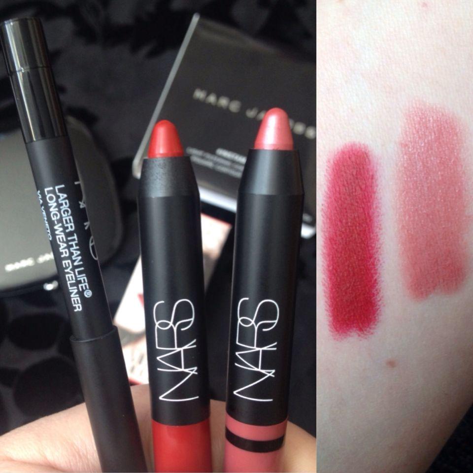 The Sephora VIB Rouge 2015 Birthday Gift NARS Cruella Velvet Matte Rikugien Satin Lip Pencil Larger Than Life Long Wear Eyeliner Is A Little