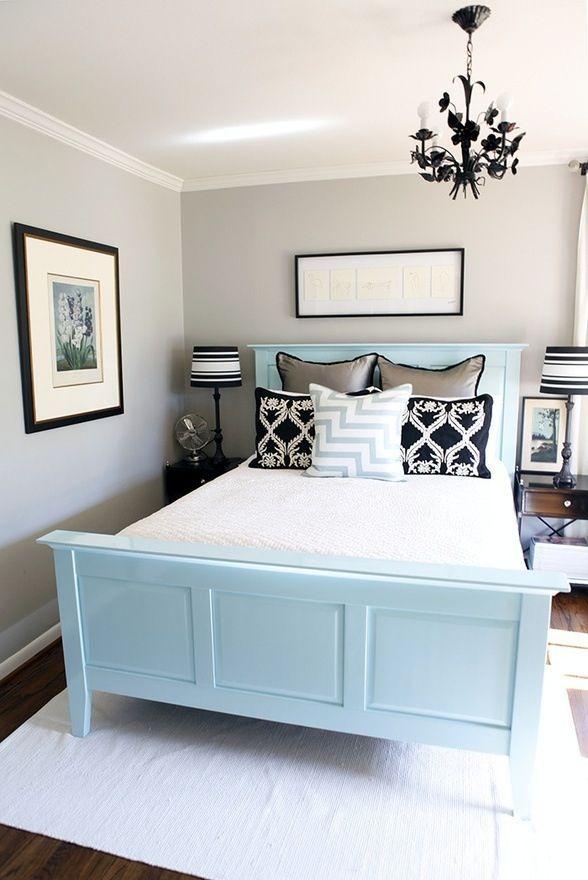 Hem misafir odası hem de yatak odası için çok uygun, aydınlık seçimler.