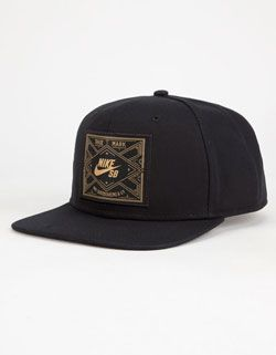 NIKE SB Dirty Diamond Mens Snapback Hat Gorras Snapback 30abe156b10