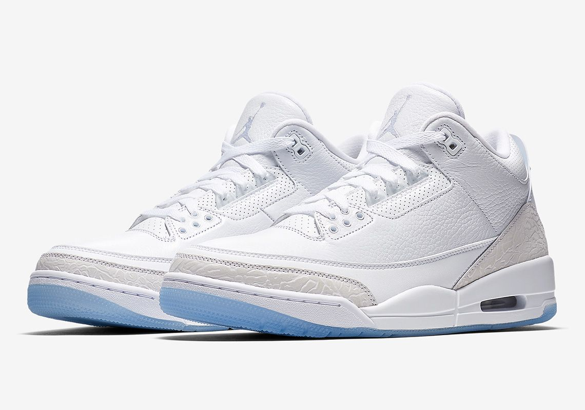 new style cfc59 4012b Air Jordan 3 Pure White Official Images 136064-111  thatdope  sneakers   luxury  dope  fashion  trending