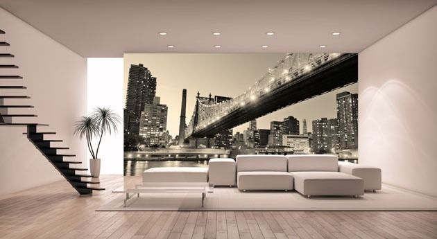 Top 10 Cities Inspired Murals for Living Room Interior Exterior