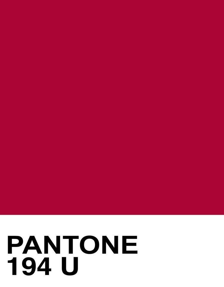 Pantone Cranberry