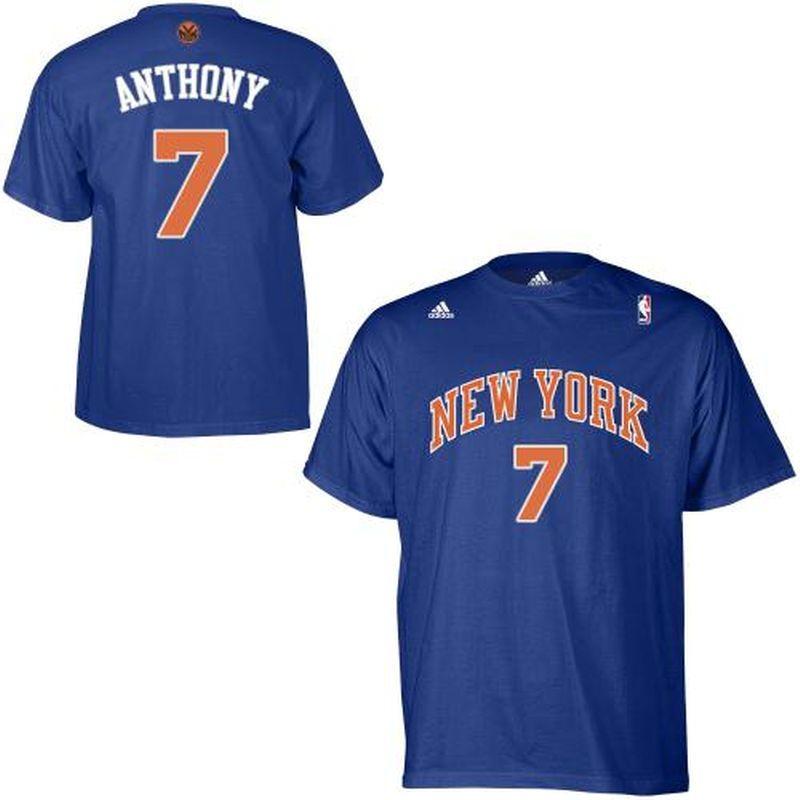 new arrivals 4c327 95b73 adidas New York Knicks Carmelo Anthony Preschool Game Time T ...