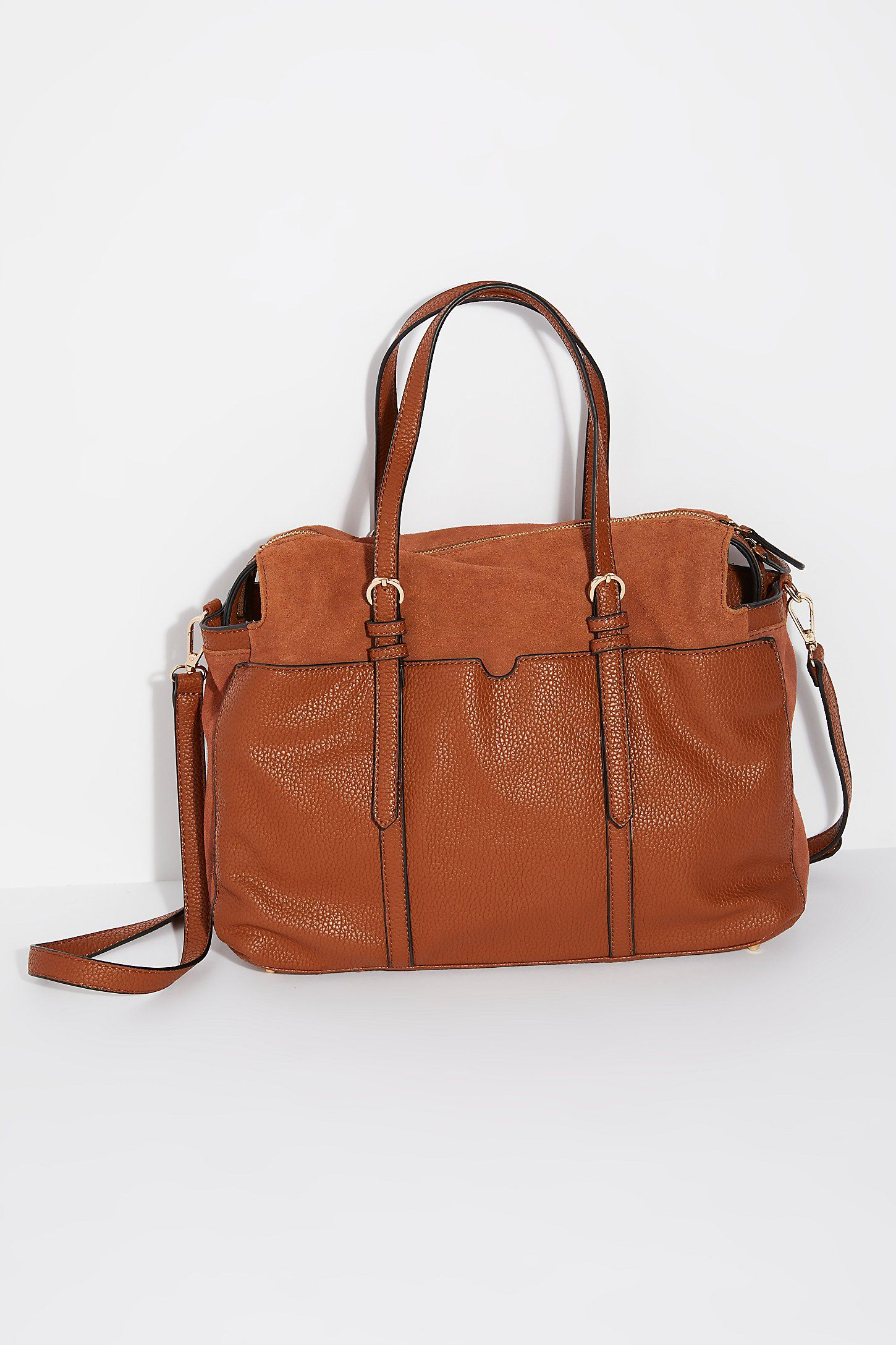 cfce192a8bc4a Louise Suede Satchel