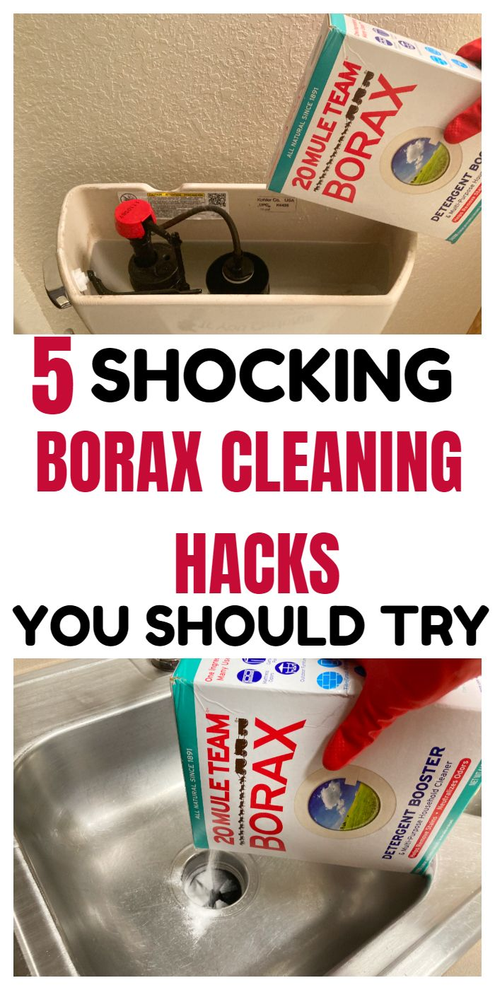 5 SHOCKING BORAX CLEANING HACKS THAT WILL BLOW YOU