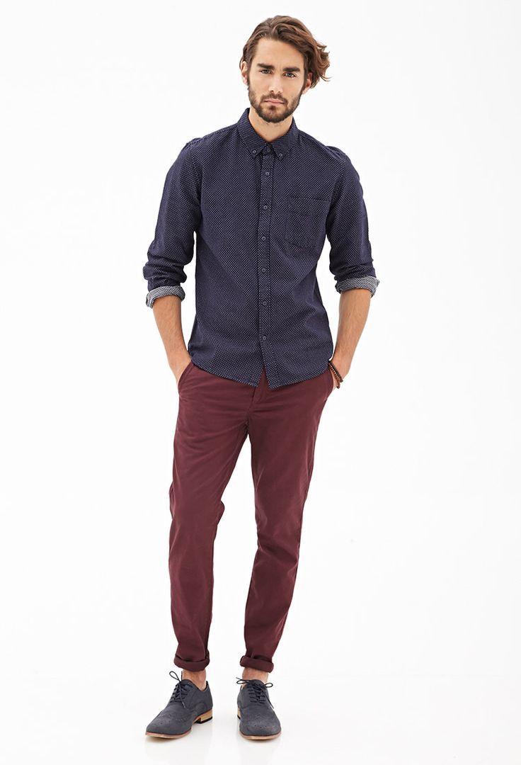 Maroon Pants Men | Gpant