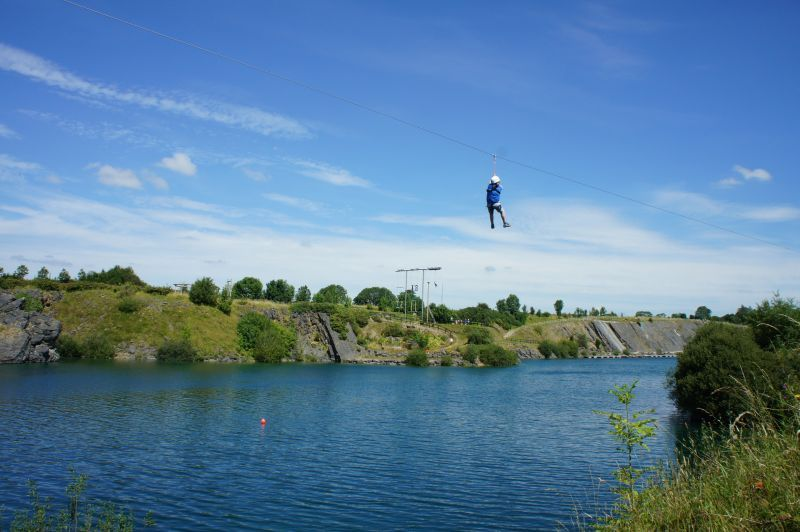 Zipline Ballyhass Lakes Activity Centre 160m Over The Lake Awesome Lake Activities Ziplining Day Trip