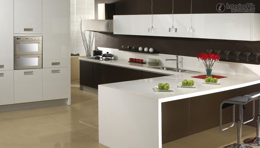 Kitchen New Kitchen Interior L Shaped Kitchen Designs Modern L Shaped Kitchens