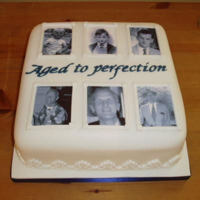 80th Birthday Cakes and Cake Ideas Homemade cakes Homemade and