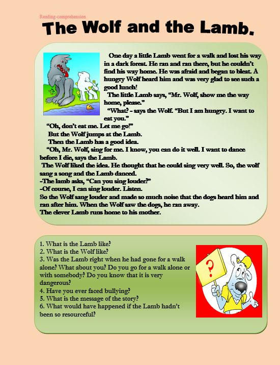 Worksheets Sample Reading Materials For Grade 3 shopping reading comprehension httpmyreadingkids comshopping the wolf and lamb com