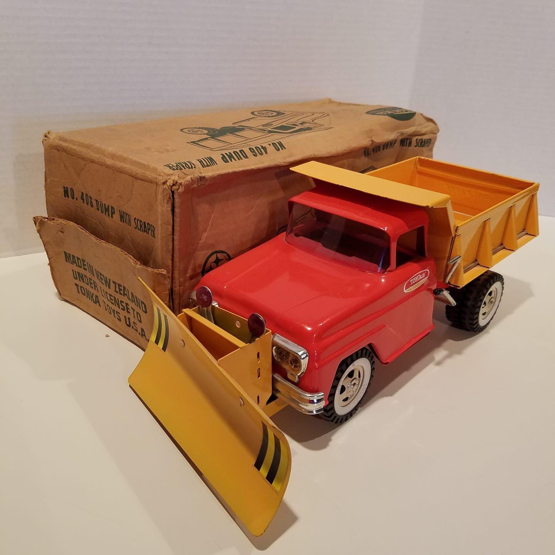 1960 Tonka No 408 Dump With Scraper