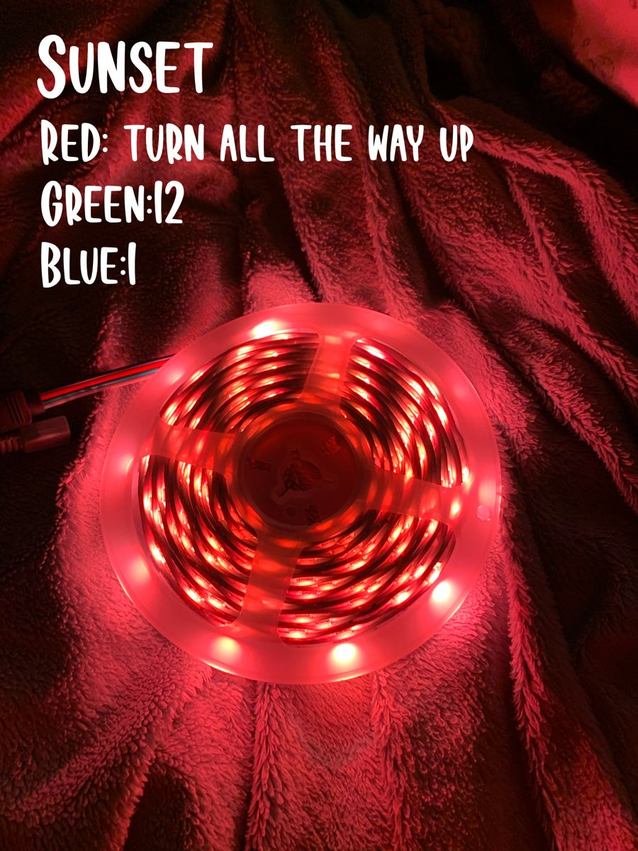 More red irl in 2020 Led lighting bedroom, Led room