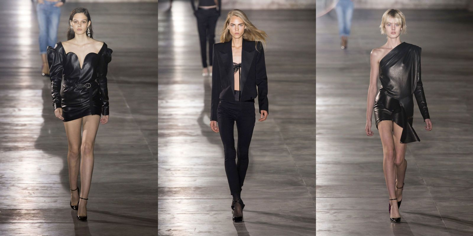 Paris Fashion Week SS17: Anthony Vaccarello's Yves Saint Laurent Debut Is Bringing Sexy Back