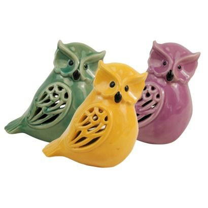 Ceramic Owl Figurine by Drew De Rose Target $9.99