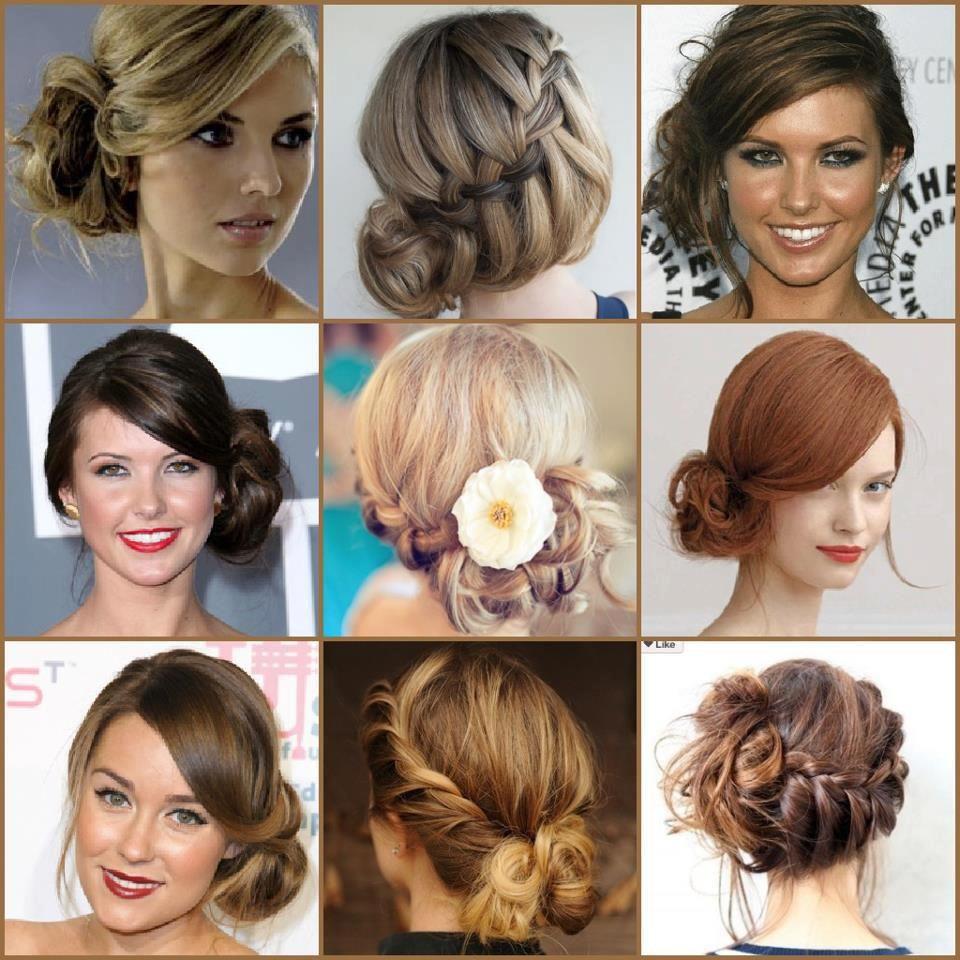 wedding hair party hair upstyle side bun hairstyles