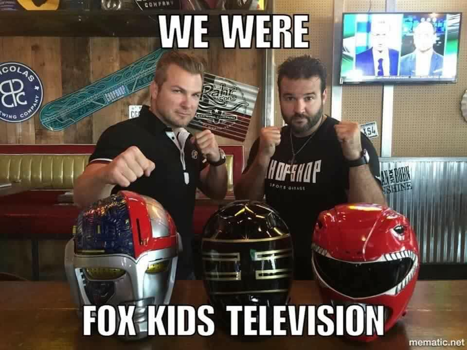 Brad Hawkins And Austin St John Kids Television Go Go Power