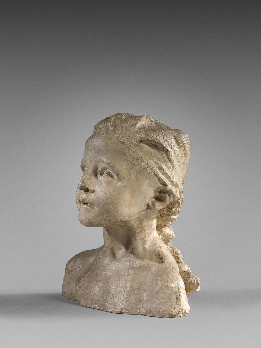 Camille Claudel - The Little Chatelaine; Creation Date: 1892 - 1893; Medium: Plaster; Dimensions: 31.5 X 27.99 (Depth: 16.92) cm.