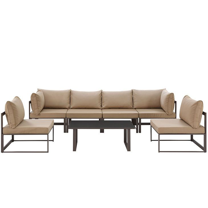 Best Modway Furniture Modern Fortuna 7 Piece Outdoor Patio 640 x 480