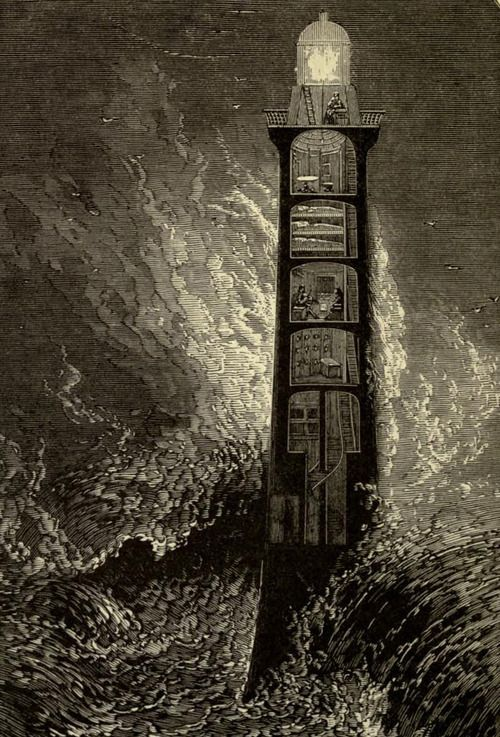 R.M. Ballantyne, The lighthouse: the story of a great fight between man and the sea (1900)