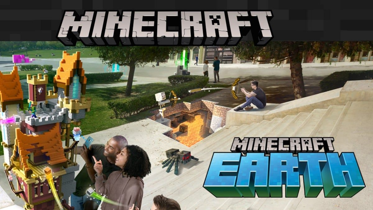 Microsoft Unveils Minecraft Earth AR Game for Android and