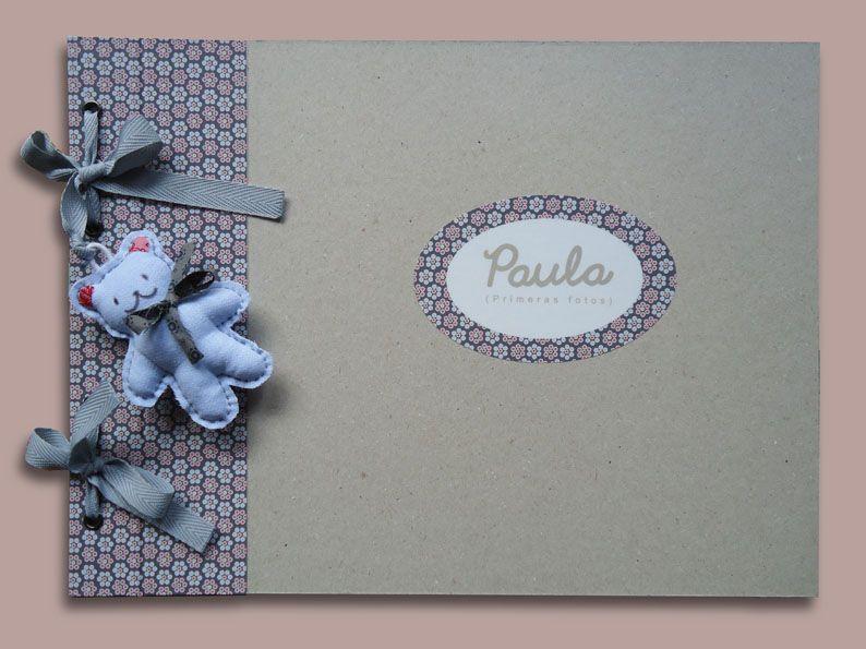 Album de fotos personalizado con nombre de stencil - Album de fotos personalizado ...