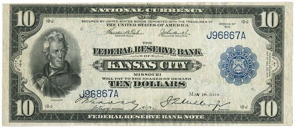 Don T Rack Up Debt Why Buying On Credit Is Slavery 1916 Click Americana Bank Notes 10 Dollar Bill Paper Currency
