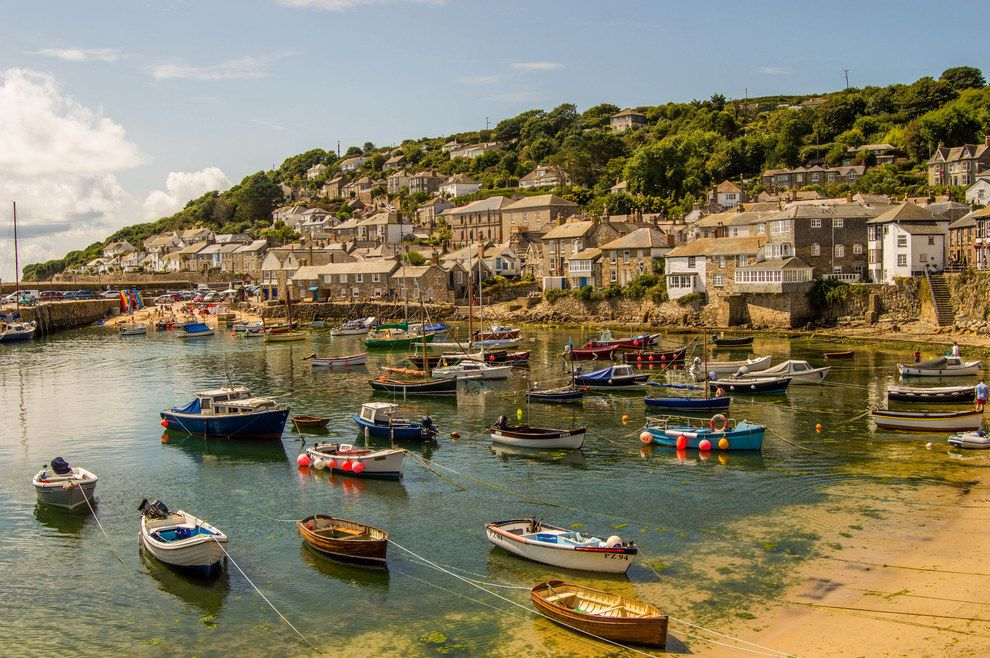 Endless fucking harbours full of colourful fucking boats. | 26 Pictures That Prove Cornwall Is An Utter Shithole