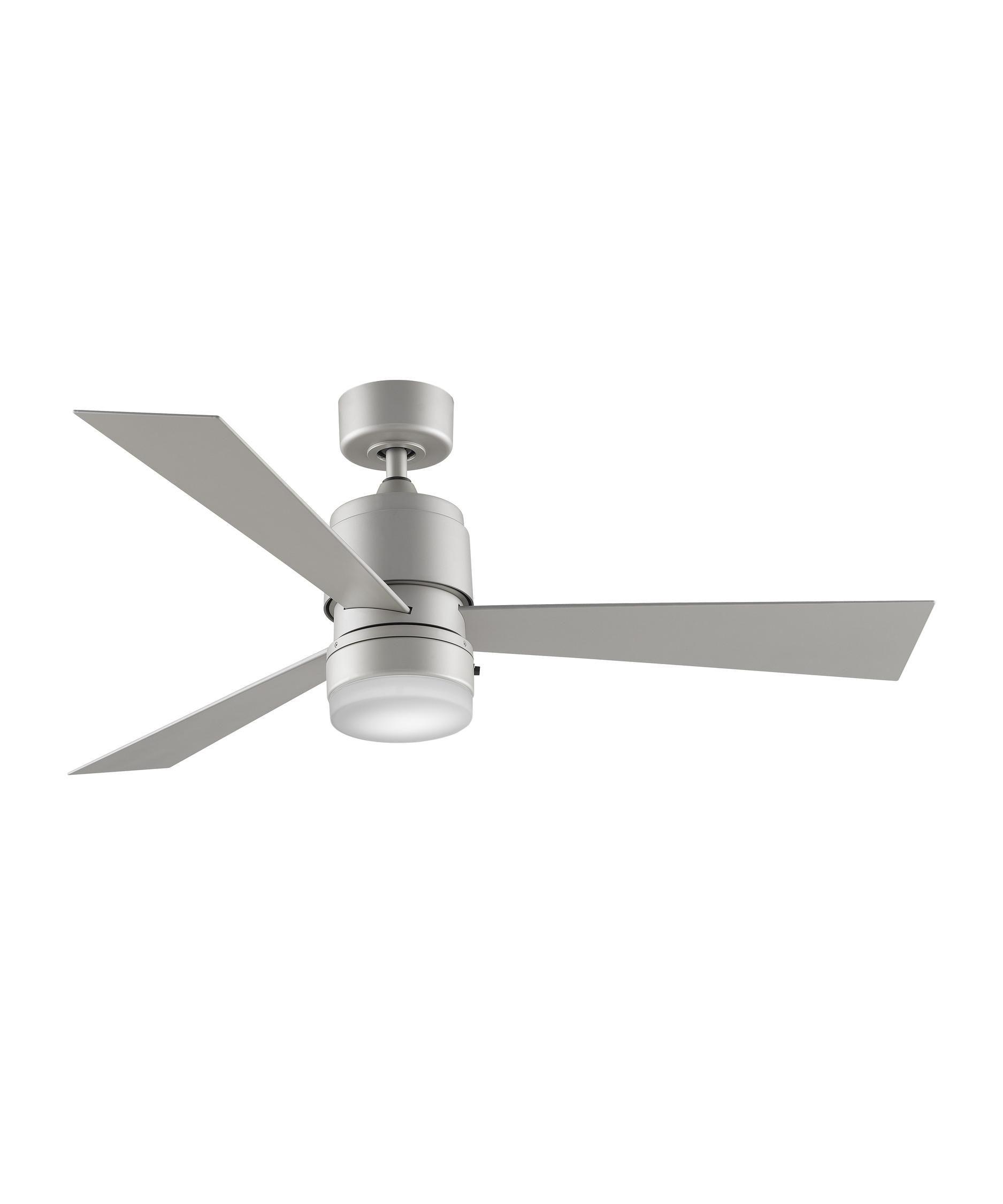 Fanimation zonix wet energy smart inch fan light kit in