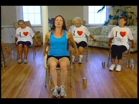 Dance Along Workout For Seniors And Elderly Low Impact Dance Exercise On Chairs Youtube Senior Fitness Chair Exercises Dance Workout