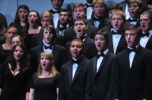 The annual Spring Choral Concert will feature the University Singers, Chapel Choir, Chamber Singers, and Women's Choir along with the newly formed HPU Community Orchestra, made up of students, faculty, and community players. The event will take place on April 15 at 7:30pm in the Pauline Theatre.