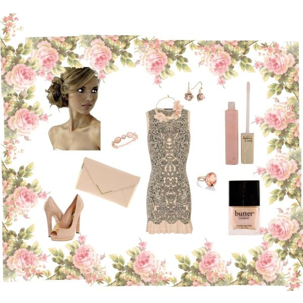 Spring Wedding Bliss, created by jennibuck on Polyvore