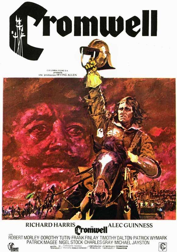 Richard Harris as Oliver Cromwell - vivid, careful history