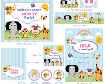 baby tv party – Etsy AU