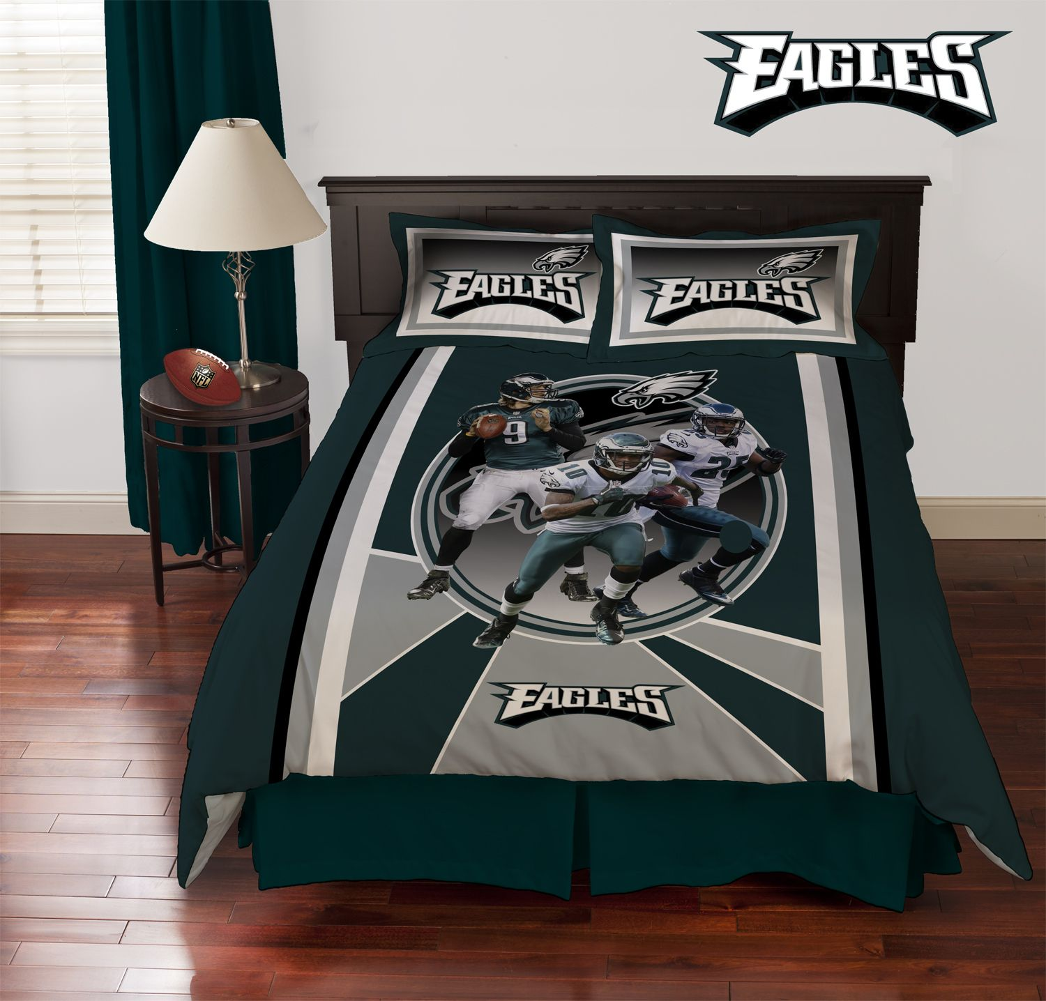 Philadelphia Eagles Collage Comforter So Cute For My Son