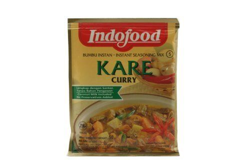 Indofood Bumbu Instan Kare Curry Authentic Indonesian Recipe