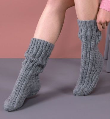 modele tricot chaussettes