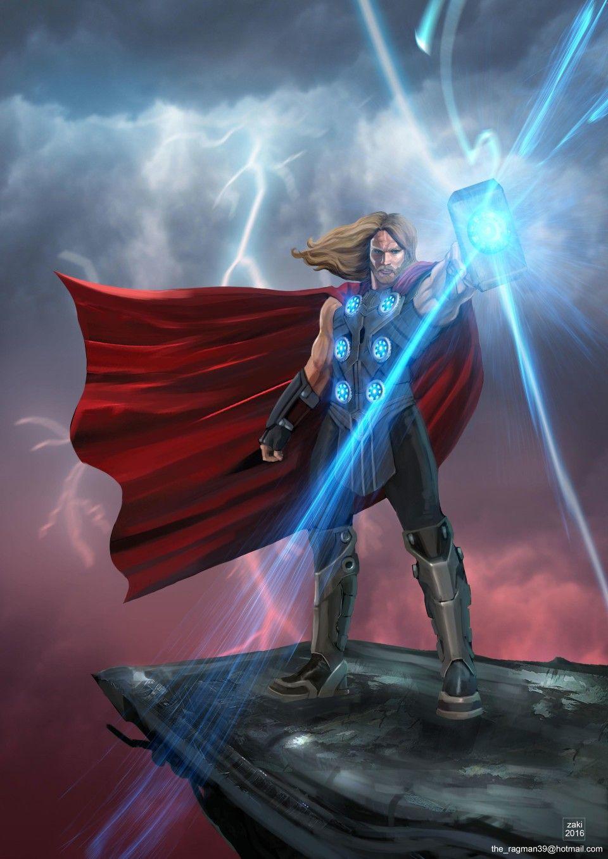 Thor Heart Pin